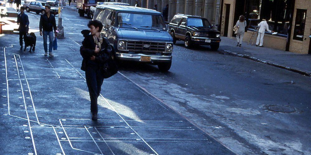 Subway Map Floating On A New York Sidewalk.Francoise Schein S Projects Artist Of The Human Rights